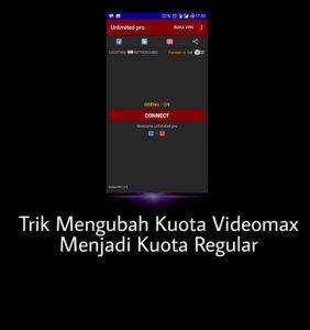 Cara Mengubah Kuota VideoMAX Menjadi Kuota Reguler